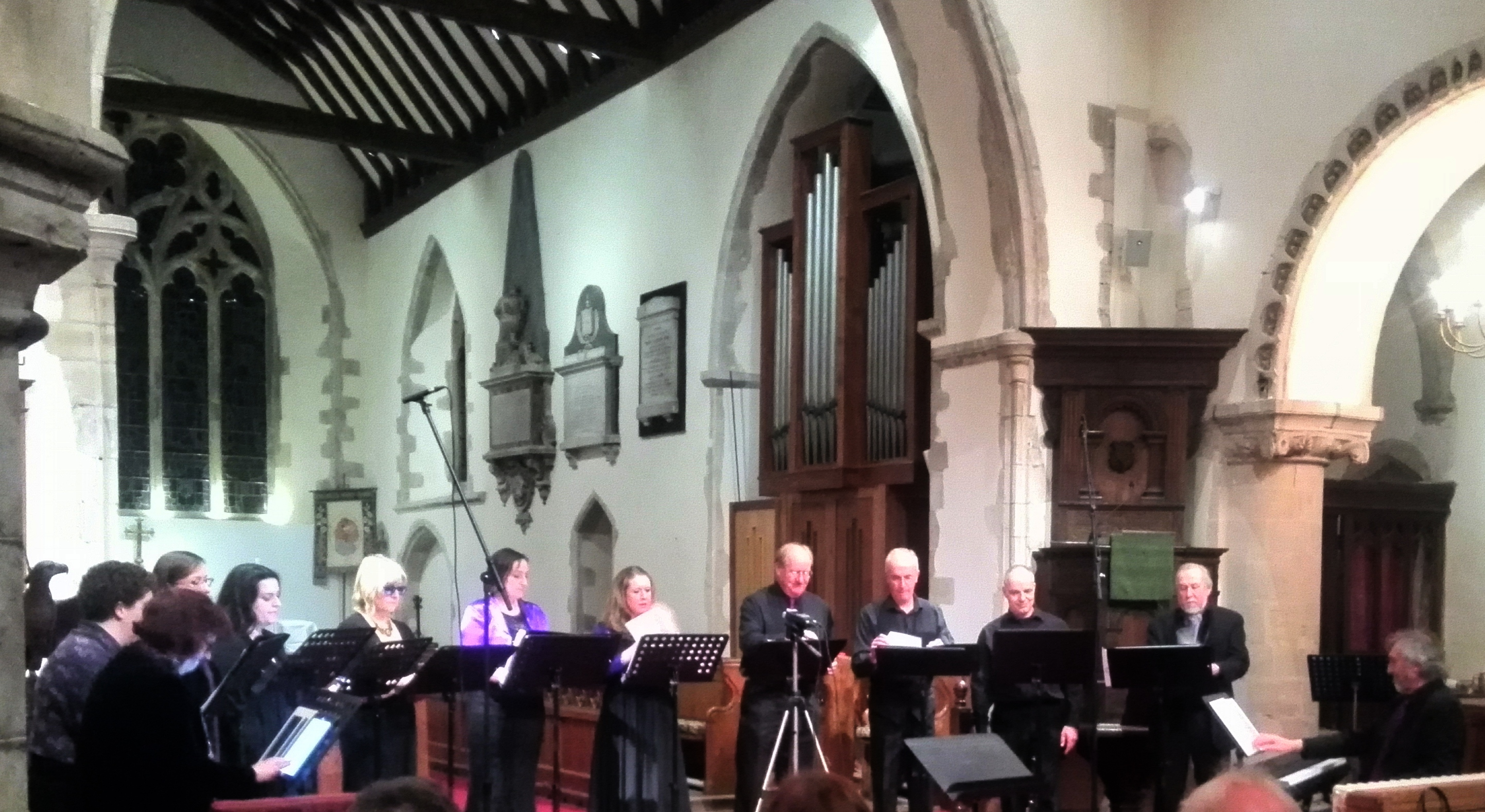 Cantate in church