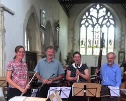 Thanet Light Orchestra woodwind quartet